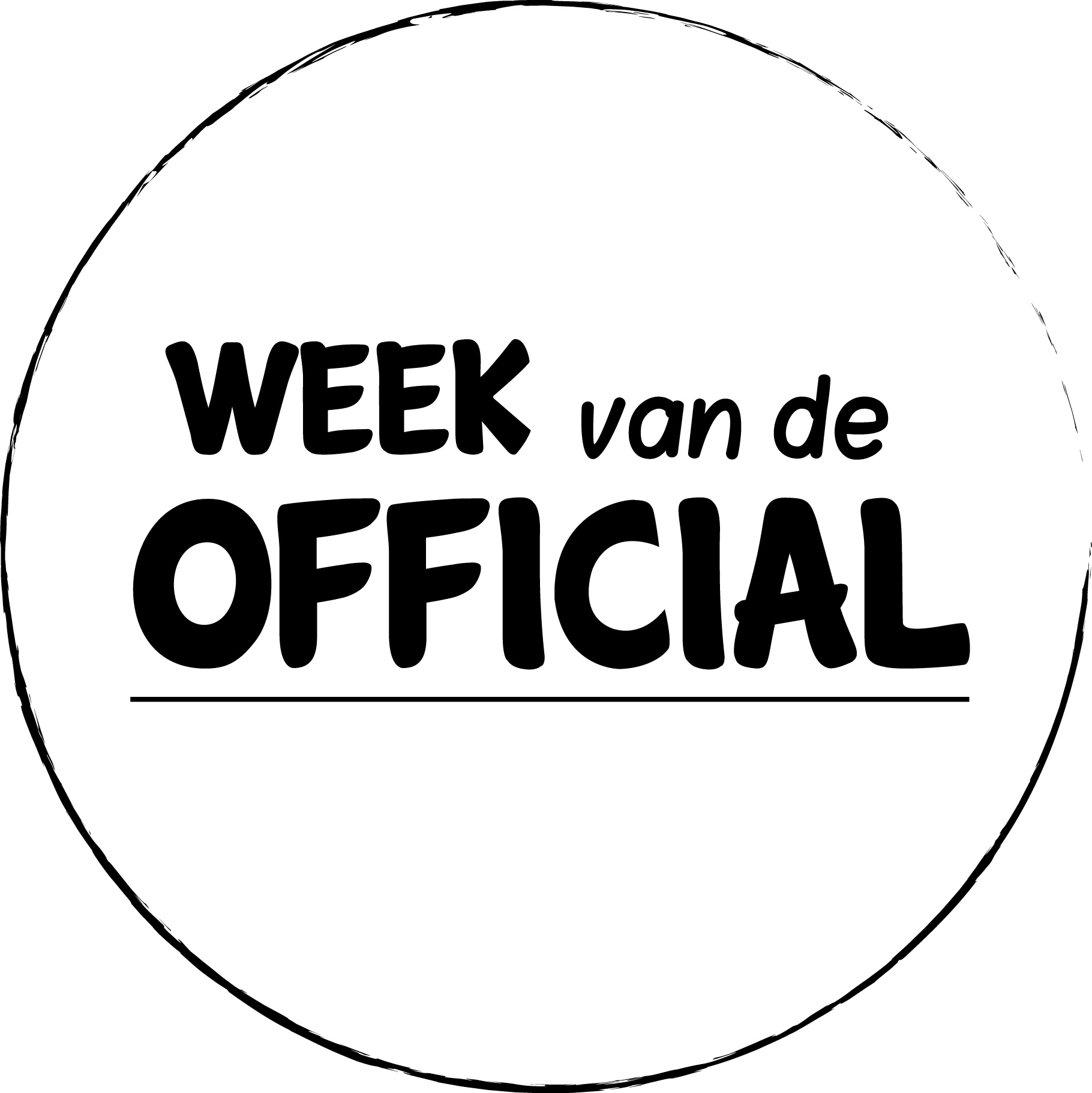 week van de official